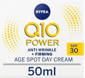 NIVEA Q10 Power Anti-Wrinkle + Firming Age Spot Day Cream SPF30 (50 ml),