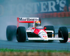 Ayrton Senna Formula One F1 McLaren Marlboro 1988 Racing Car Photo