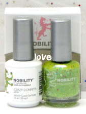 LECHAT NOBILITY LED/UV GelColor & Free Nail Polish Set NBCS108- Crazy Confetti