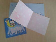 Biglietti d'Auguri Hello Kitty 4 pz Originali Gadget Idea Regalo da Collezione