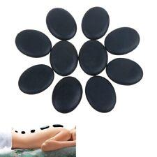 Natural Massage Stone Hot Basalt Set Warmer Cold Lava Therapy Rock Spa 6 pcs
