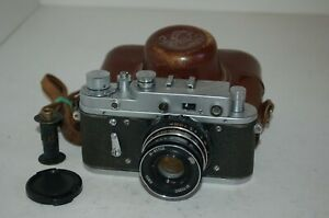 Zorki-2C RARE Vintage 1959 Soviet Rangefinder Camera & Lens. 59974701. UK Sale