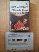Donna Summer Cassette - I Remember Yesterday - 1977 GTO   FULLY TESTED