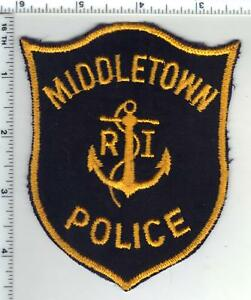 Middletown Police (Rhode Island) 1st Issue Shoulder Patch