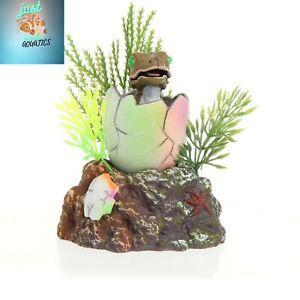 Aquarium Fish Tank Decoration Baby Dinosaur Oxygen Air Operated Ornament