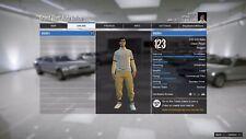GTA PS4 account $445,000,000 lvl 123