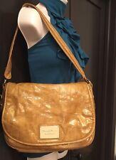Simply Vera Wang Handbag Purse Brown Snake Skin Messenger Style #384