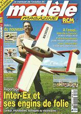 MODELE MAG-RCM N°711 INTER-EX/HM4-6S DE T2M/AR DRONE DE PARROT/LOGO 600V-BAR