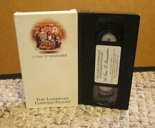 FORT LAUDERDALE CHRISTMAS PAGEANT 2000 Life of Christ VHS First Baptist Church