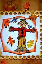 Scarecrow RETIRED (U get photo #2) L@@K@ examples ART IMPRESSIONS RUBBER STAMPS