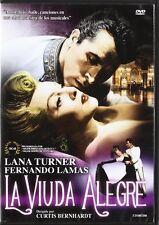 The Merry Widow (Region 2) Marcel Dalio, Lana Turner, Curtis Bernhardt NEW