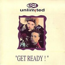 2 Unlimited Get ready (1992) [CD]