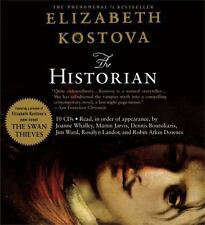 The Historian by Elizabeth Kostova (2005, CD, Abridged)