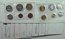 Greece Set of 11 Mixed Aftermarket Coin Year Sets Unc/bu** Free U.S. Shipping **