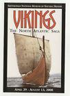 Vikings Smithsonian Institution Exhibit Unused Rack Card Free Card Ad Postcard