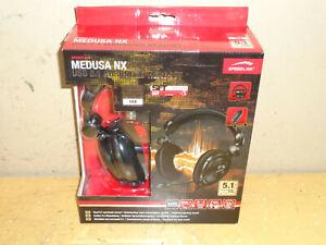 medusa nx speedlink 5.1 surround usb headset