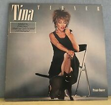 TINA TURNER Private Dancer 1984 VINYL LP + INNER EXCELLENT CONDITION E