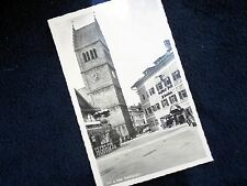 OLD PHOTO-PC: ZELL AM SEE~STADTPLATZ~GASTHOF POST~ca 1935/1945~ANIMATED~OLD CARS