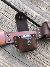 One Handmade Leather Magazine Pouch For Ruger 10-22 (magazine Not Included)