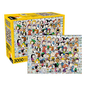 Peanuts Cast Jigsaw Puzzle 3000 pieces
