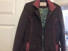 Ness Designed In Scotland Size 10 Brown Mix Floral Lining Used