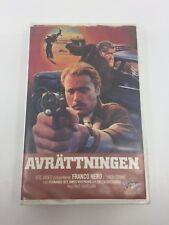 HIGH CRIME - 1973 - VHS - PAL - VTC Video Label - SWEDEN - ULTRA RARE