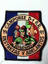 BSA PUERTO RICO 1991 CAMPOREE DISTRITO 1 DESTREZAS Y ADELANTOS