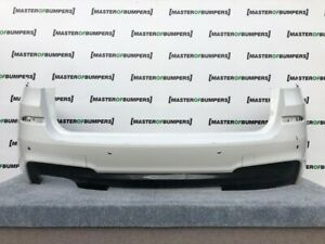BMW X3 M SPORT F25 2011-2015 REAR BUMPER IN WHITE GENUINE [B671]
