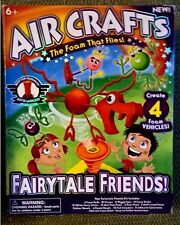 New! Air Crafts Hover Launcher and Fairy Tale Friends Kit Foam Craft Kits