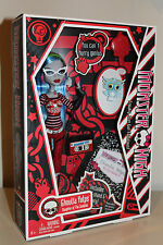 Ghoulia Yelps Monster High Doll Pet Sir Hoots Original First Wave Run NIB 2010