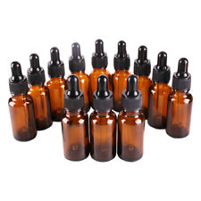 2oz Amber Glass Bottles For Essential Oils With Glass Eye Dropper Pack Of 20
