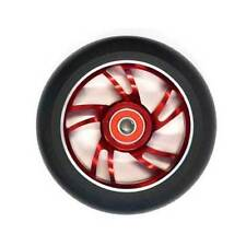 Scooter Wheel Alloy 110mm with Abec 9 Bearing Red Core Suitbale for Razor Type S
