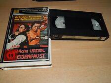 Das tödliche Urteil der Eisenfaust - Eastern - Dragon Lee  - VHS - ab 18