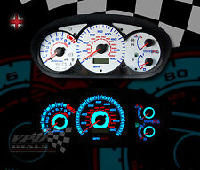 Honda Civic Type R ep3 Bombilla Interior Dash Speedo calibre Upgrade Kit de marcado