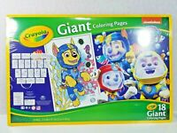 SEALED Crayola, GIANT Paw Patrol Underwater Rescue, Coloring Pages, Nickelodeon