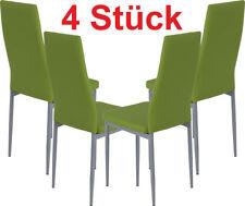 Tisch- & Stuhl-Sets aus Kunstleder mit 4 Teile fürs Esszimmer