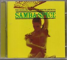 Various The Sizzling Sounds Of South America (Samba Spice) UK CD