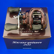 Shimano 14 Scorpion 201, Left Handle Baitcasting Reel Japan Model, 032249