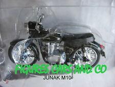 MOTO  1/24 COLLECTION EUROPE DE L'EST JUNAK TOURIST M10 POLOGNE 1956-65