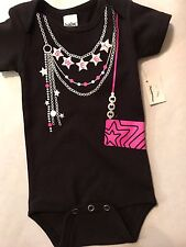 Black Sweet Baby Jewelry And Purse One Piece  Outfit  New with Tags 0-6 Months