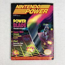 Nintendo Power Volume 23 Power Blade R-Type Mickey Pac-Man Monopoly April 1991