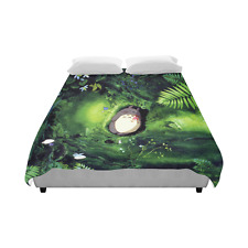 My Neighbor Totoro Cartoon Home Bedding Duvet Cover Quilt Cover 86 x 70 Inch