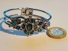 Silver Plated Abalone Bracelet