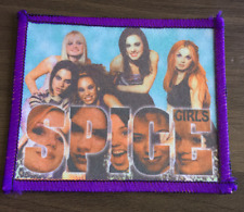 SPICE GIRLS SEW ON PATCH 90s GIRL POP BAND Wannabe / Spiceworld / Mama VINTAGE