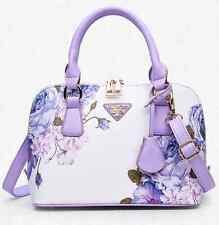 Women Printing Bag Leather Shell Style Shoulder Handbags Tote Purse Satchel US