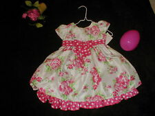 EUC Cherokee BOUTIQUE DRESS  18 months Girl Baby EASTER Spring GREAT BUY!!