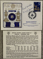More details for everton v liverpool 1978 first day cover signed by dixie dean