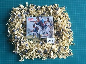 #267. 1/72 Scale Napoleonic Waterloo British Line Infantry by Airfix. 550+