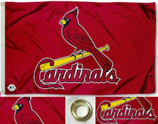NEW St. Louis Cardinals MLB Flag Large 3x5 Banner FREE SHIPPING!!