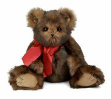 Nice Teddy Bearington Heartford Plush Stuffed Animal Teddy Bear Faux Mink Fur